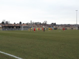 Another free kick to Walsall Wood and well saved by Basford's keeper