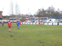 So nearly a goal for Walsall Wood.