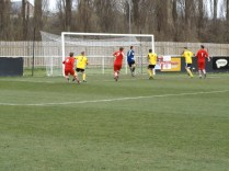 Basford's keeper being put to the test again