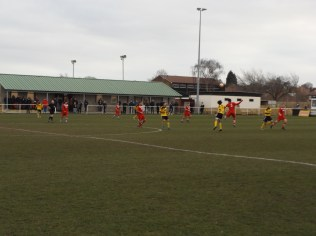 Despite the cold of the afternoon all spectators were treated to a fine display of sporting football