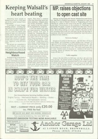Brownhills Gazette January 1994 issue 52_000013
