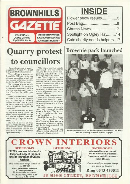 Brownhills Gazette October 1993 issue 49_000001