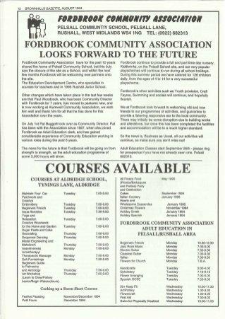 Brownhills Gazette August 1994 issue 59_000012