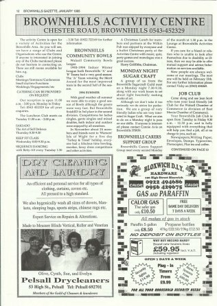 Brownhills Gazette January 1995 issue 64_000012