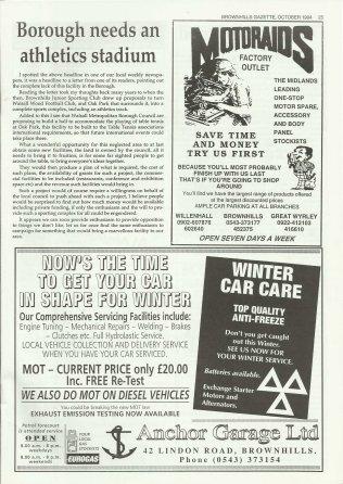 Brownhills Gazette October 1994 issue 61_000025