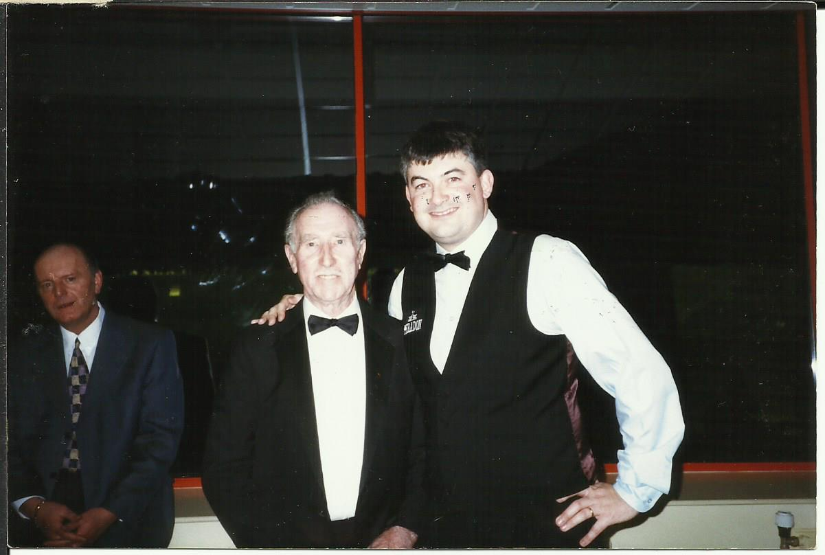 With John Parrot