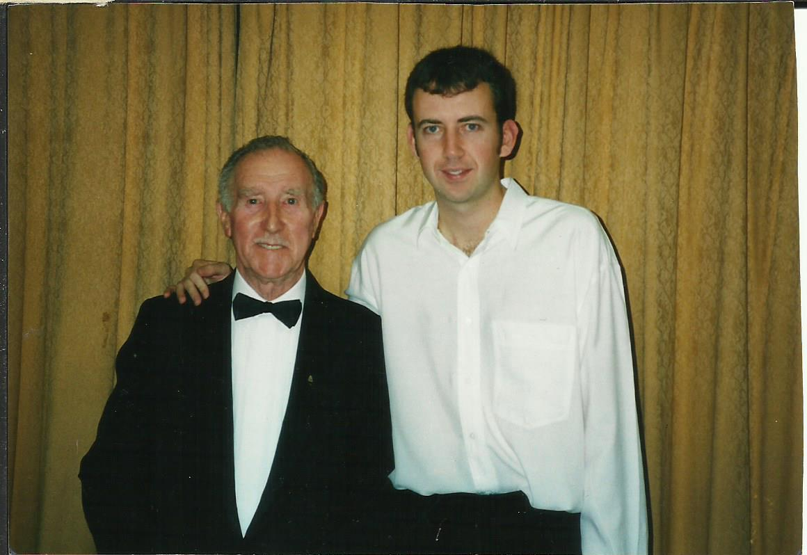 With Mark Williams