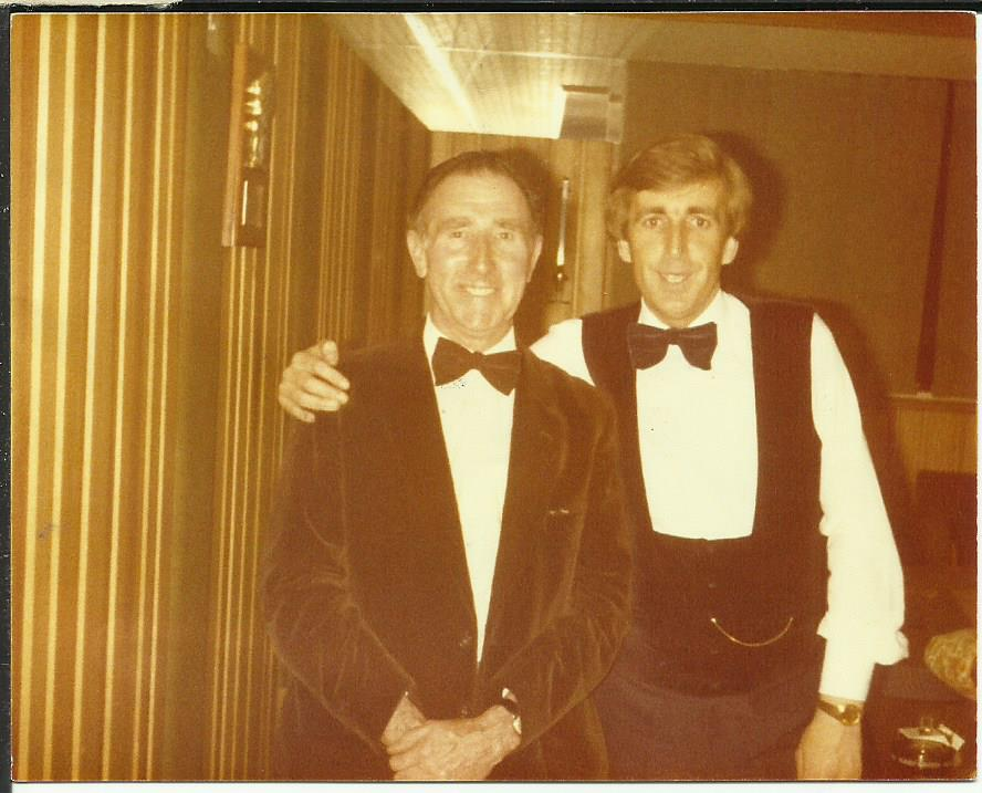 With Terry Griffiths