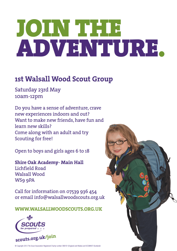 Walsall wood flyer