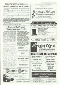 Brownhills Gazette April 1995 issue 67_000005