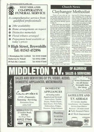 Brownhills Gazette April 1995 issue 67_000012
