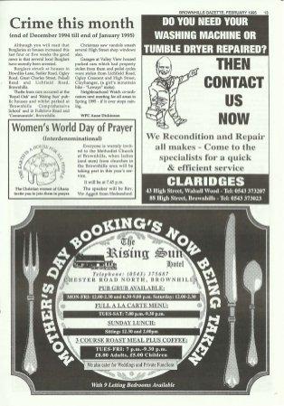 Brownhills Gazette February 1995 issue 65_000013