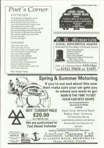 Brownhills Gazette March 1995 issue 66_000007
