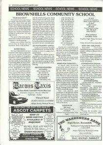 Brownhills Gazette March 1995 issue 66_000018