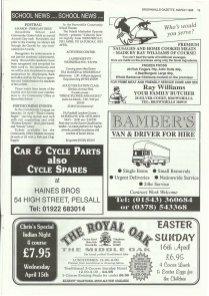Brownhills Gazette March 1995 issue 66_000019