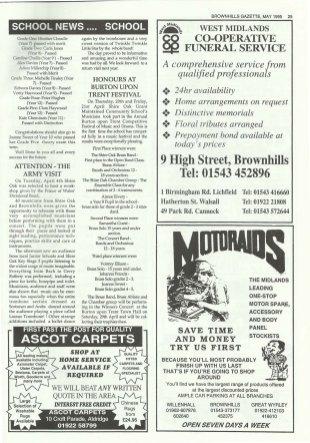 Brownhills Gazette May 1995 issue 68_000025