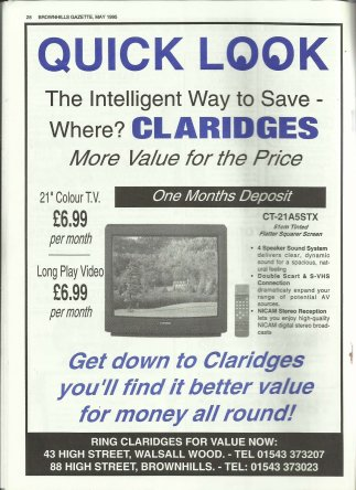 Brownhills Gazette May 1995 issue 68_000028