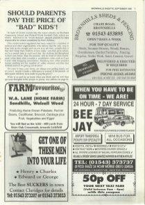 Brownhills Gazette September 1995 issue 72_000007