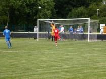 WWFC testing Lichfield's goalkeeper