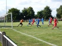 Lichfield substitute goalkeeper working hard
