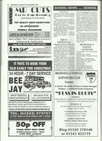 Brownhills Gazette November 1995 issue 74_000018