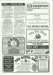Brownhills Gazette November 1995 issue 74_000019