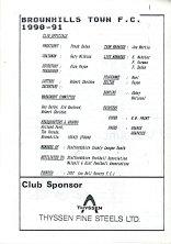 Brownhills Town 1990-91_000003