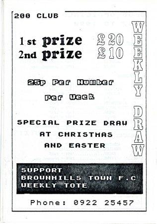 Brownhills Town 1990-91_000018