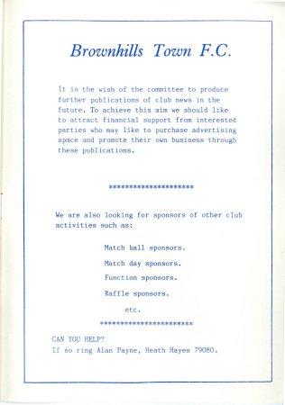 Brownhills Town 1990-91_000019