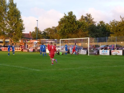 The first of seven goals to Walsall Wood.