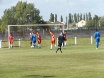 A corner kick to Bardon, putting the Wood under increasing pressure