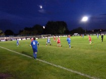 Kidsgrove on the attack in the second half