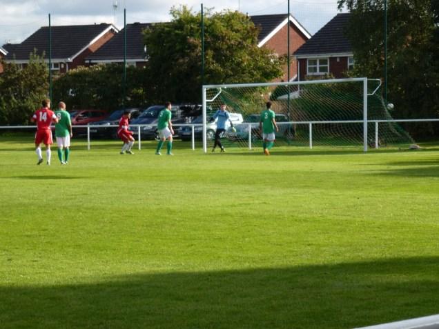 The Wood's goal. A fine captain's goal