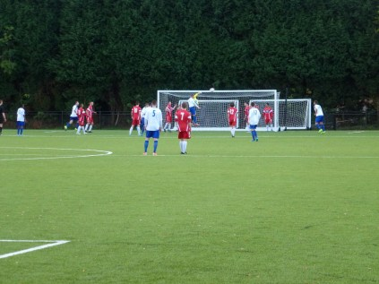 Coleshill score the only goal, in the dying moments of the game