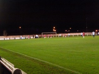 First goal, to Coleshill .Time for the Wood to show their teeth.