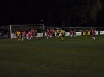 Late in the second half and Hollbeach on the attack again.