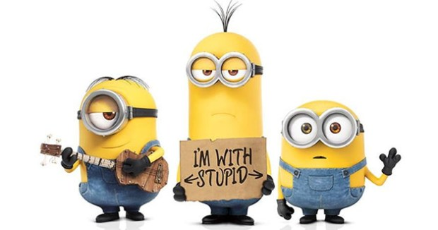 Minions. Those wee yellow fellas get everywhere...
