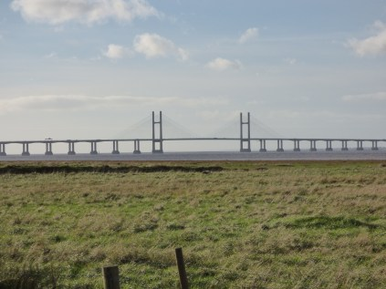 The Second is a very long bridge, with a suspended middle section.