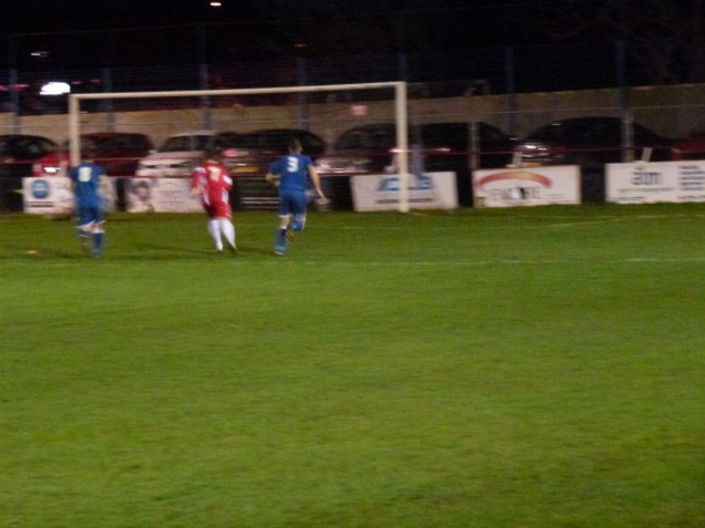 First goal, to Walsall Wood in this dazzling cup tie.