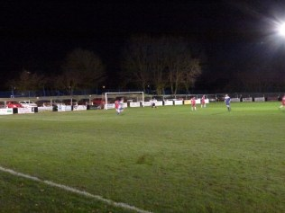 Second half and a well-deserved goal to Rocester
