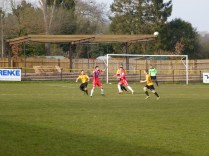 Wood on the attack as Alvechurch respond, in their own way