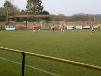 Equalising goal to the Wood as Alvechurch tall defence is left on tip toe. Superb soccer.