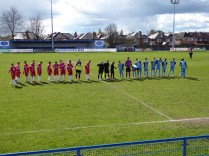 Long Eaton wore their home blue strip for this thrilling contest