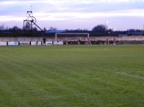 Heanor prepare to strike at goal