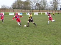 A fast-flowing match where Rocester outshone the Wood at times