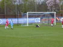 A fine shot brings Long Eaton's equalising goal