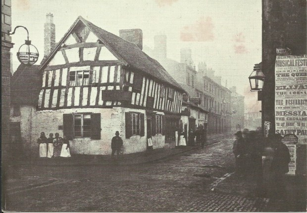 The old Barrel Inn, Victoria Street c 1876