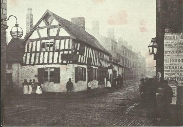 The old Barrel Inn, Victoria Street c 1876