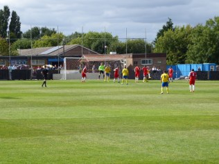 Tividale about to mount one of several strong challenges in the second half.