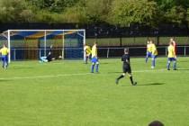 Second half,and Khalsa goalkeeper makes a fine save